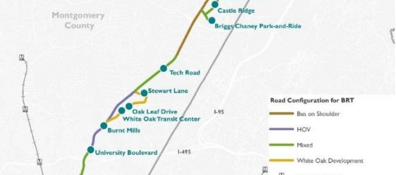 federal government to pitch in 10 million for route 29 bus rapid transit